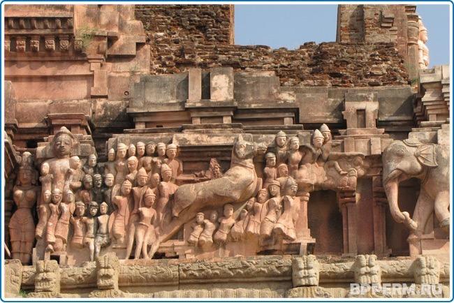 Собрание скульптур и храмов Хампи