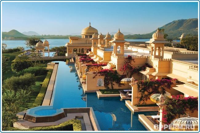 Отдых в Индийском отеле