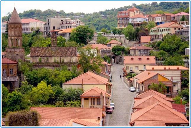 Грузинский Город Любви Сигнахи