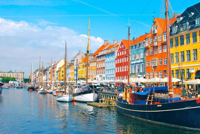 Набережная в Дании