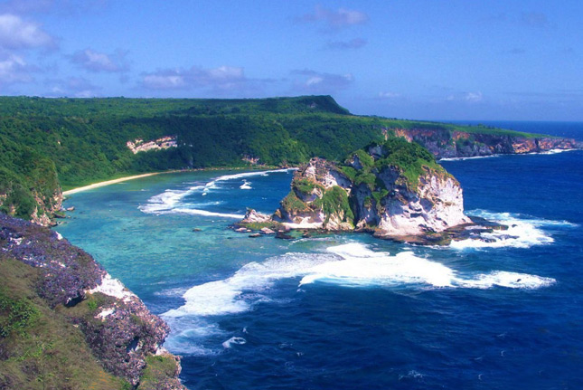 Прекрасные виды на Марианских островах