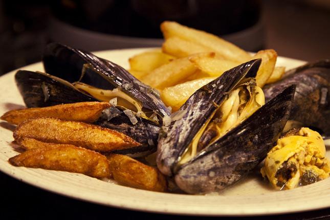 Картофель с чесночным соусом - Бельгийская кухня