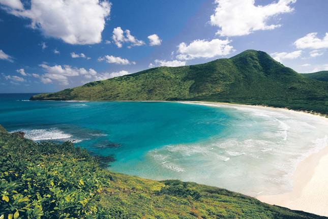 Песчаные пляжи Сент-Китс и Невис