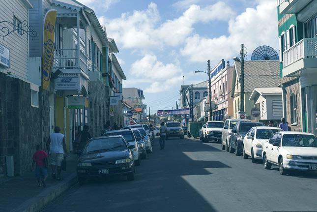 Поселение в Сент-Китс и Невис