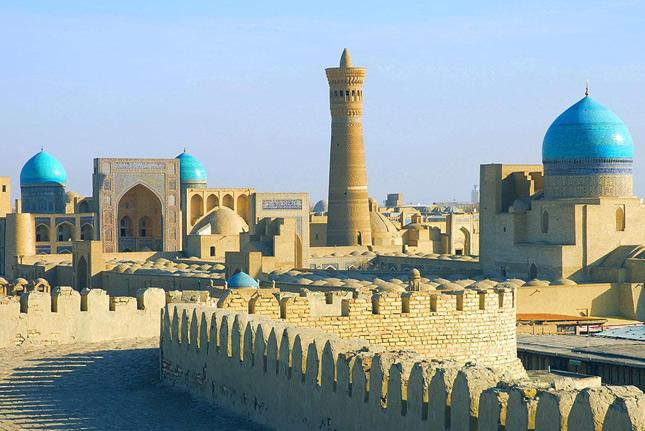 Архитектура Узбекистана имеет неповторимый стиль
