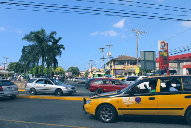 Такси на Ямайке