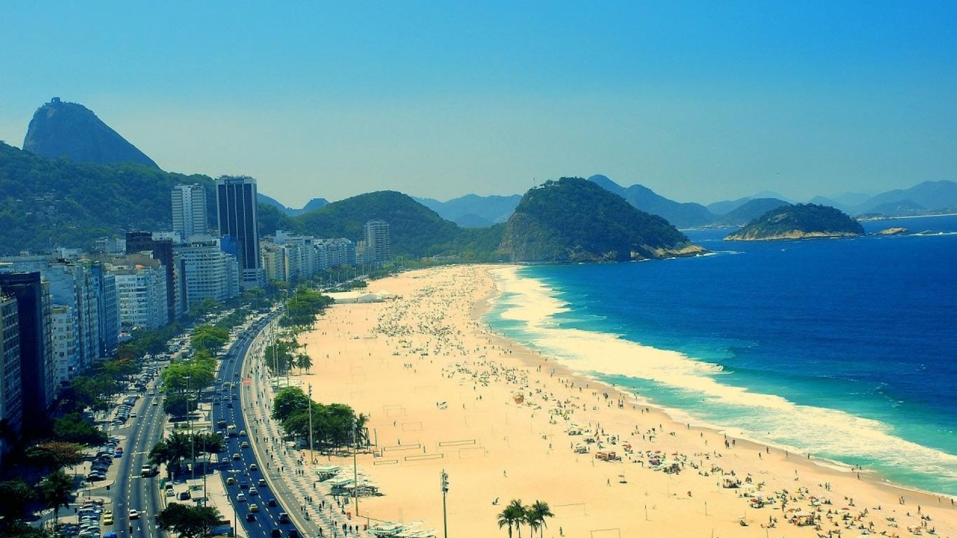 Куда поехать отдыхать в марте - Бразилия