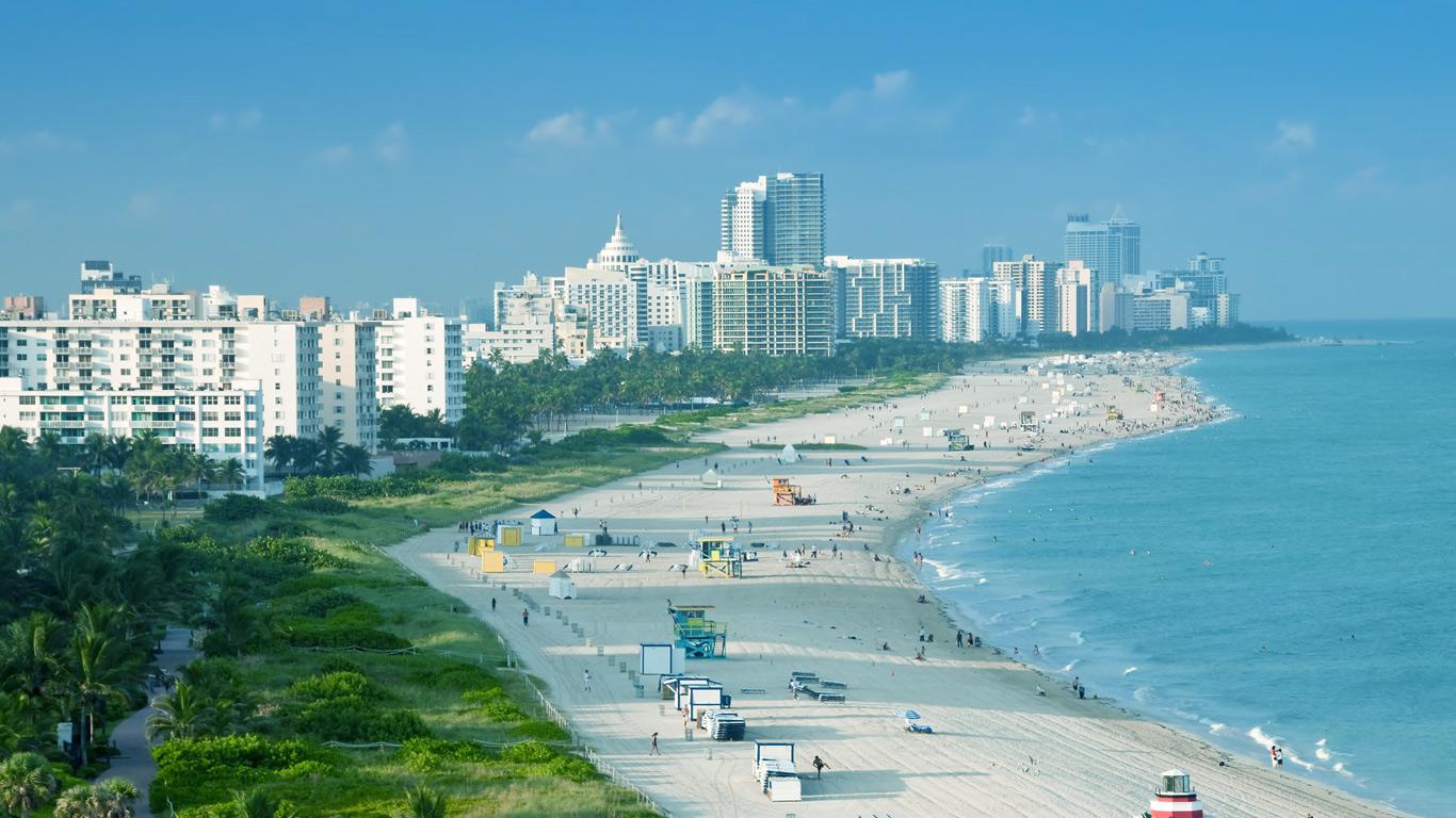 отдых в январе в Майами
