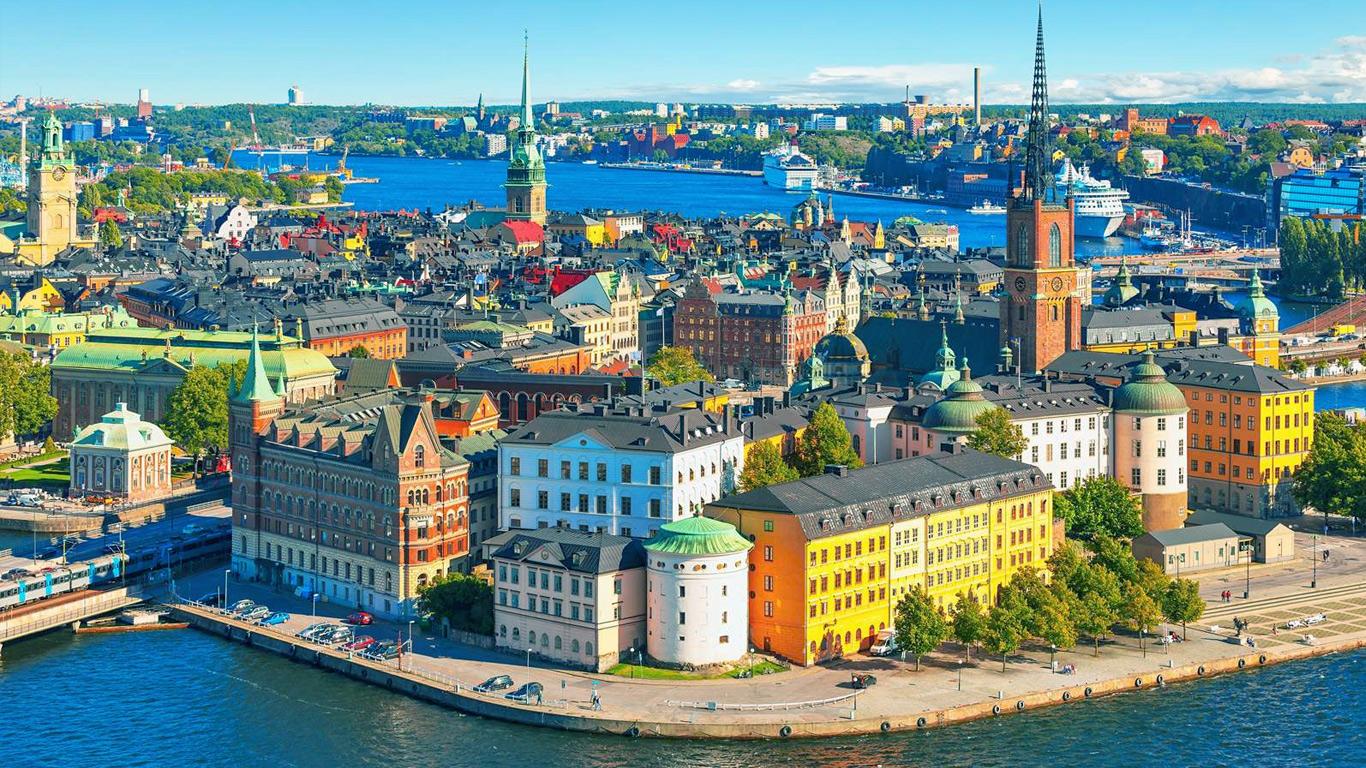 Отдых в январе - Стокгольм