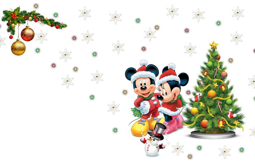 Новогоднее Микки-шоу в Полазне