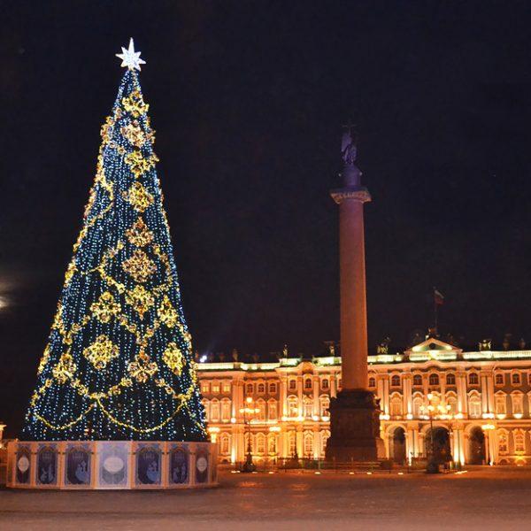 Новогодние огни Петербурга — ж/д тур