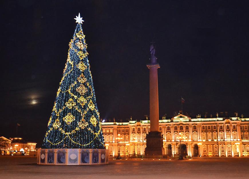 Новогодние огни Петербурга – ж/д тур