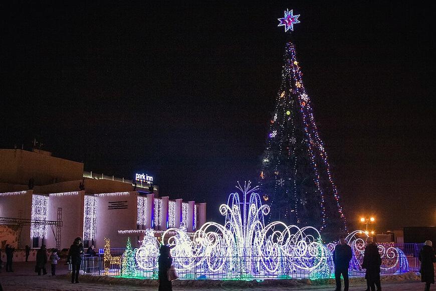 Новогодняя ночь в Ижевске - Автобусный тур из Перми