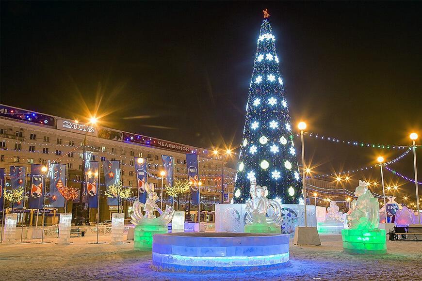 Не суровый выходной в Челябинске!